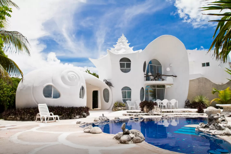 The Seashell House Mexico