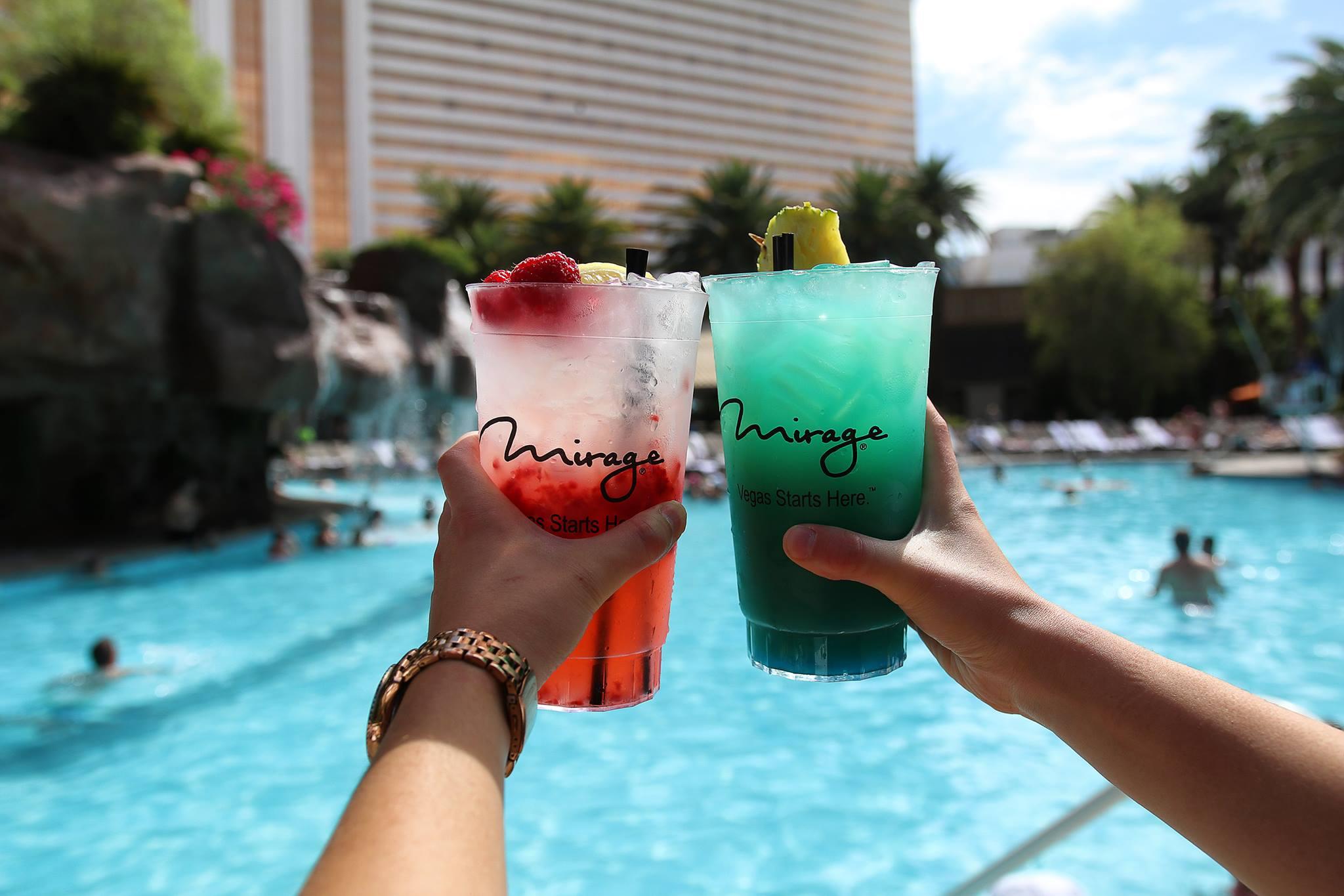 mirage drinks vegas
