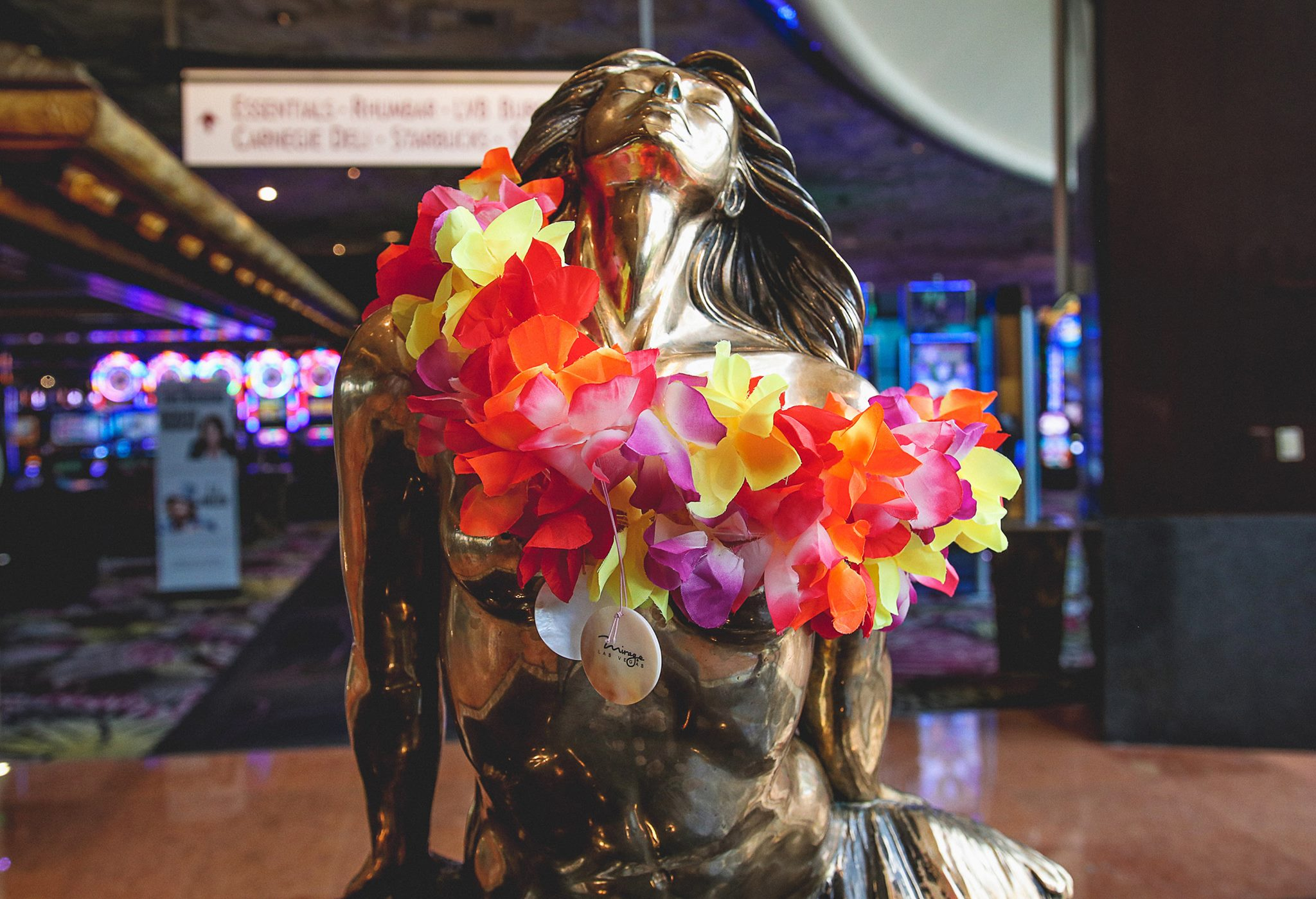 Mirage Vegas Mermaid Good luck